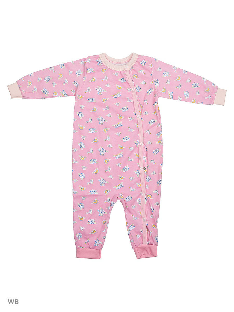 Комбинезон Babycollection 12LAO13-007/d/розовый