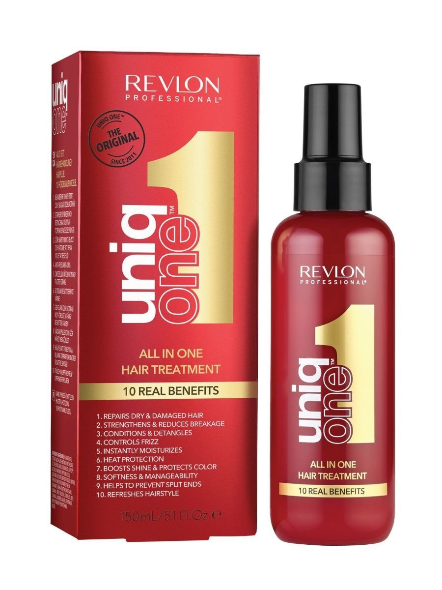 Спреи Revlon Professional Несмываемая Маска-спрей Uniq One 150 мл revlon professional uniq one all in one conditioning shampoo 6 300 мл