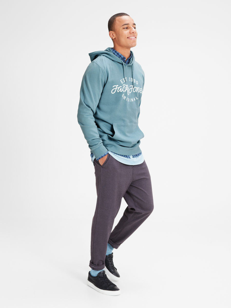 Толстовка Jack & Jones 12115957/StoneBlue