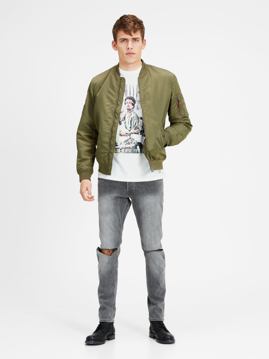 Футболка Jack & Jones 12116395/CloudDancer