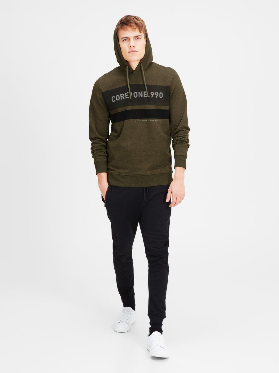 Толстовка Jack & Jones 12119210/DeepLichenGreen