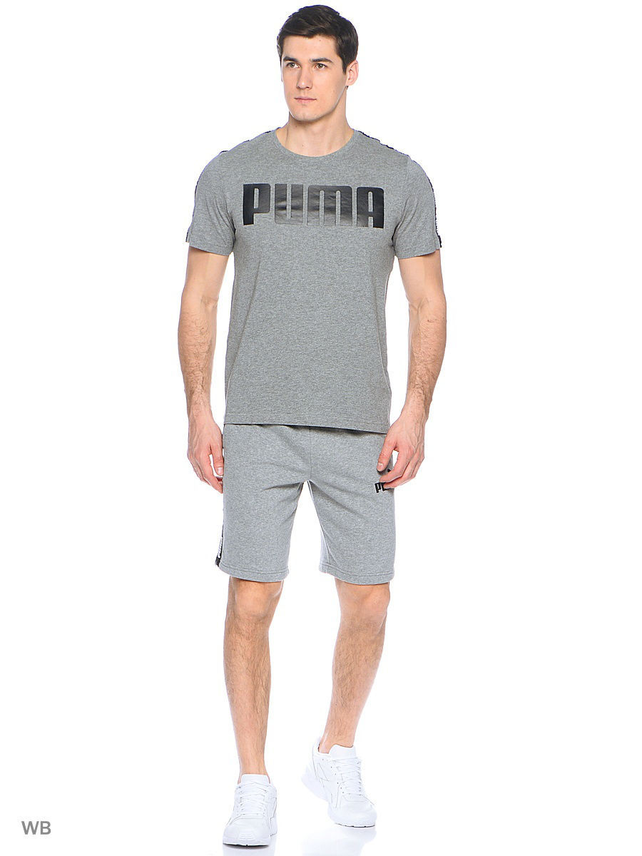 Футболка Puma Футболка Power Rebel Logo Tee шорты power rebel sweat shorts 10 puma