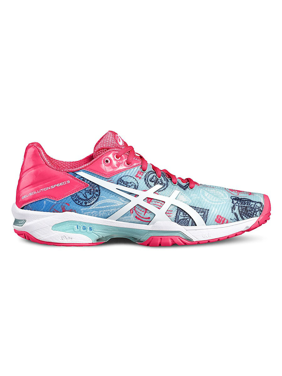 Кроссовки ASICS Кроссовки GEL-SOLUTION SPEED 3 L.E. PARIS asics asics gel cardio zip 3