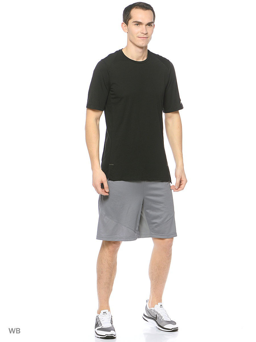 Футболка Nike Футболка Elite Men's Short-Sleeve Basketball Top чулок д щитков nike guard lock elite sleeve su12 se0173 011 s чёрный