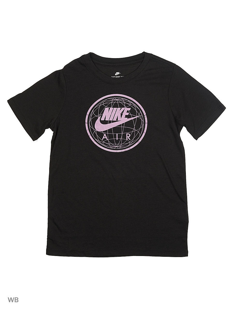 Футболка Nike Футболка B NSW TEE SS AIR WORLD футболка nike футболка b nsw tee ss air world