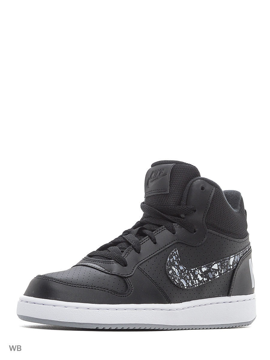 Кеды Nike Кеды NIKE COURT BOROUGH MID PRNT GS кеды nike кеды force 1 mid ps