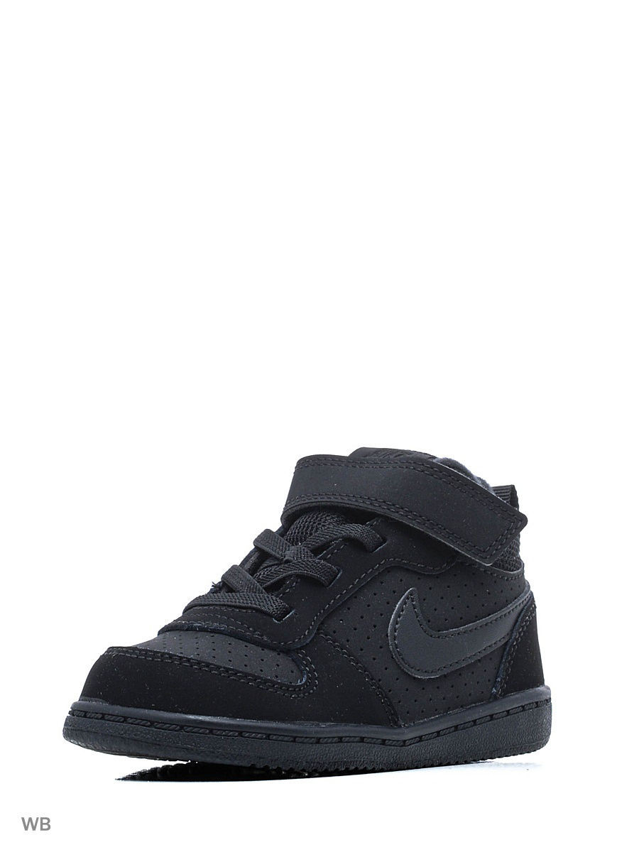 Кеды Nike Кеды NIKE COURT BOROUGH MID (TDV) кеды nike кеды force 1 mid ps