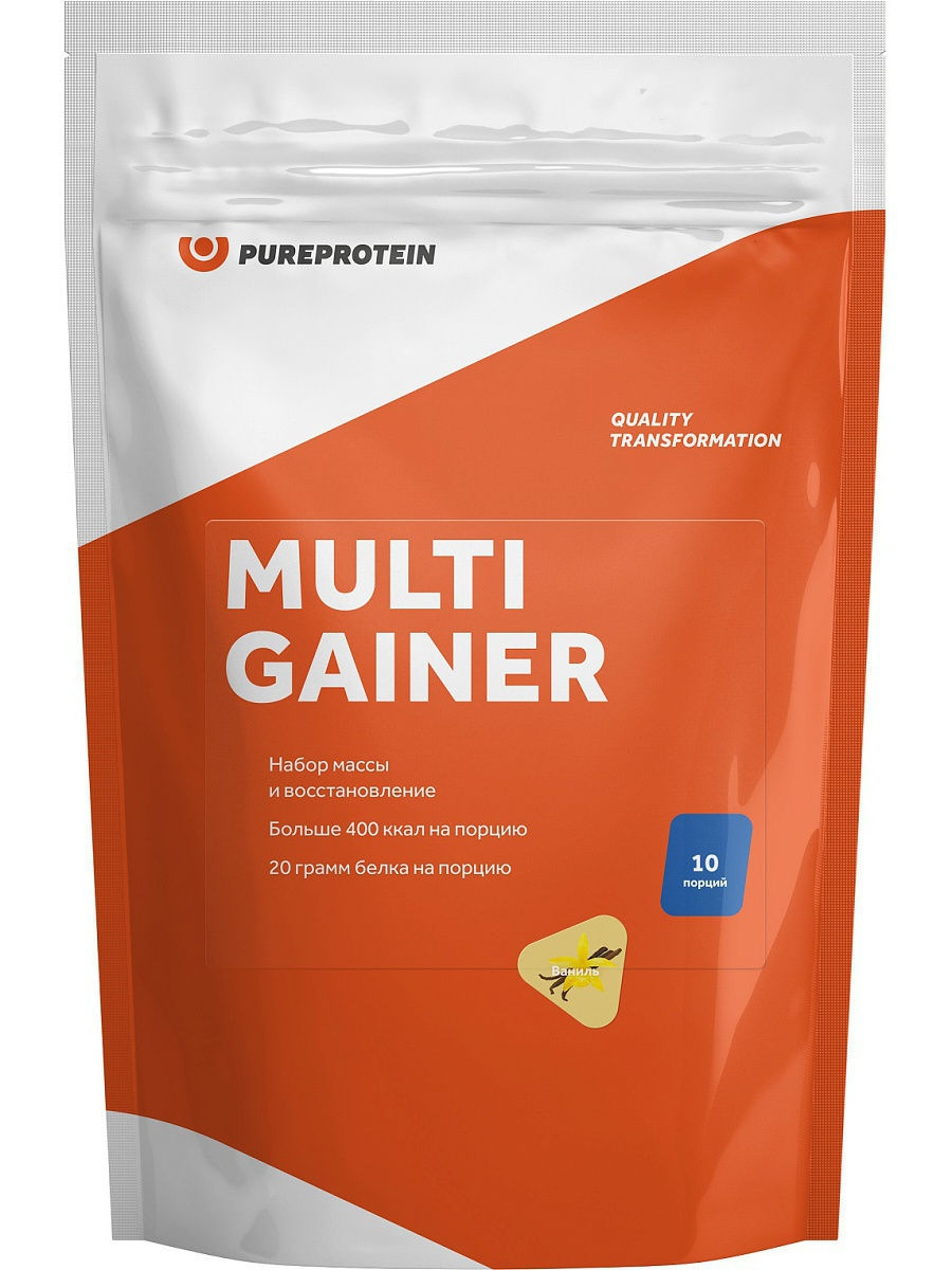 Гейнер Pure Protein Multi Gainer (Ваниль) 1000 г