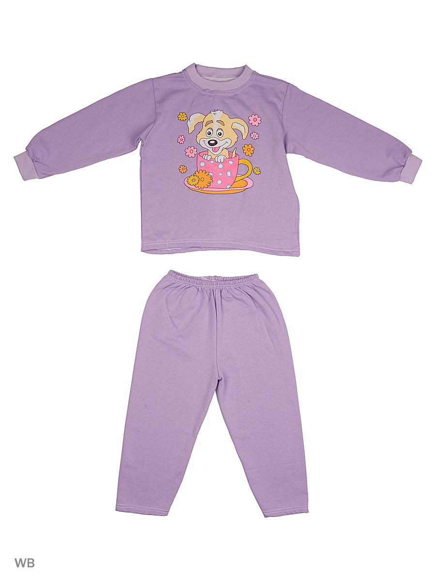Пижама Babycollection 13Baby-04/2/d/сиреневый