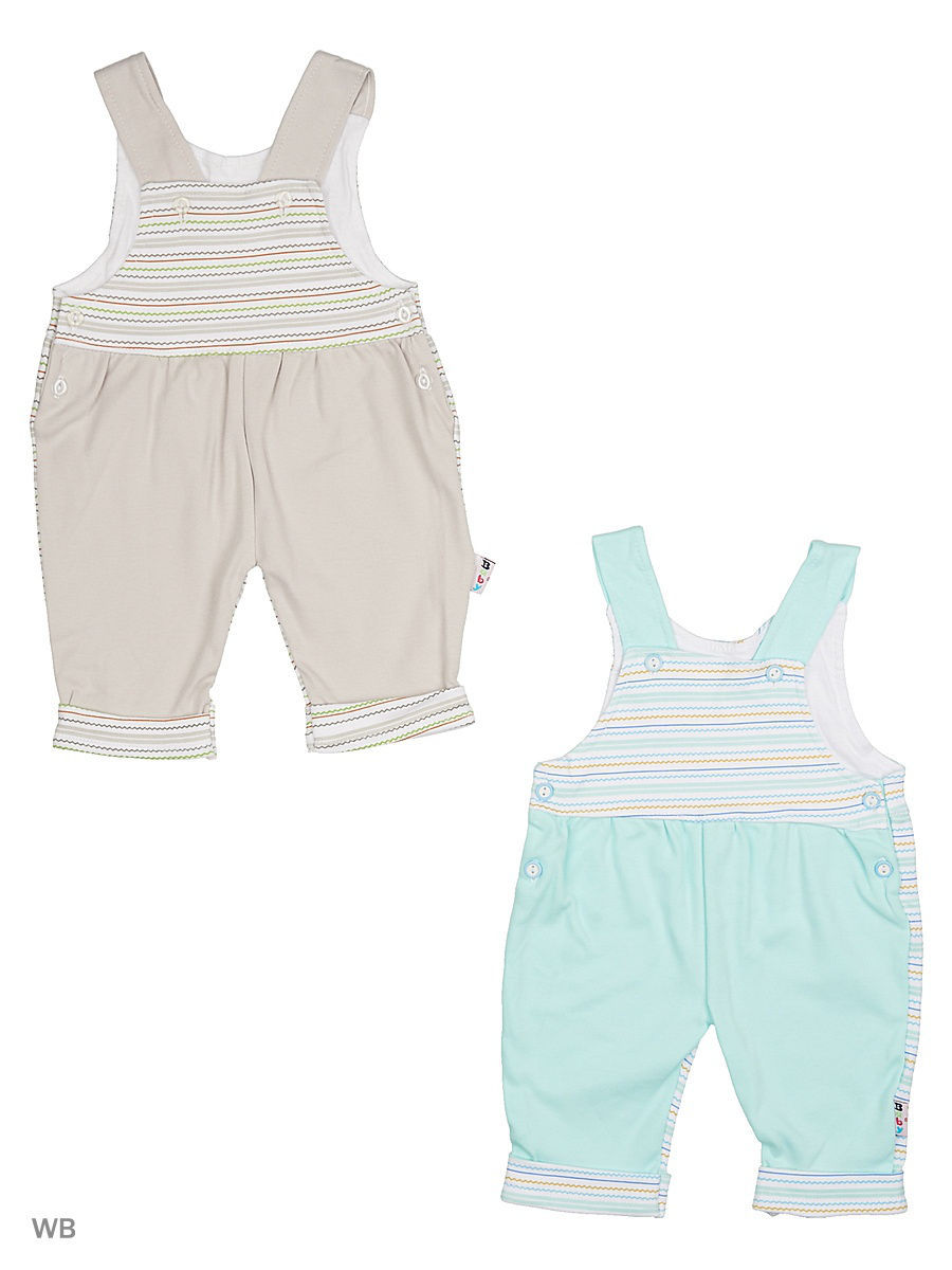 Комбинезон Babycollection 13Baby-99/d/бирюзовый