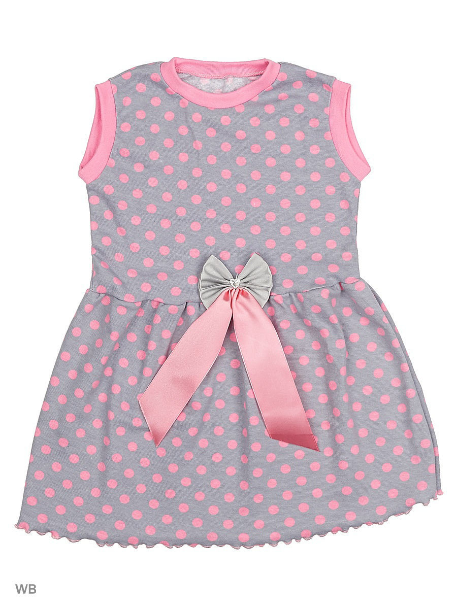 Платье Babycollection 13CR-428/d/серый