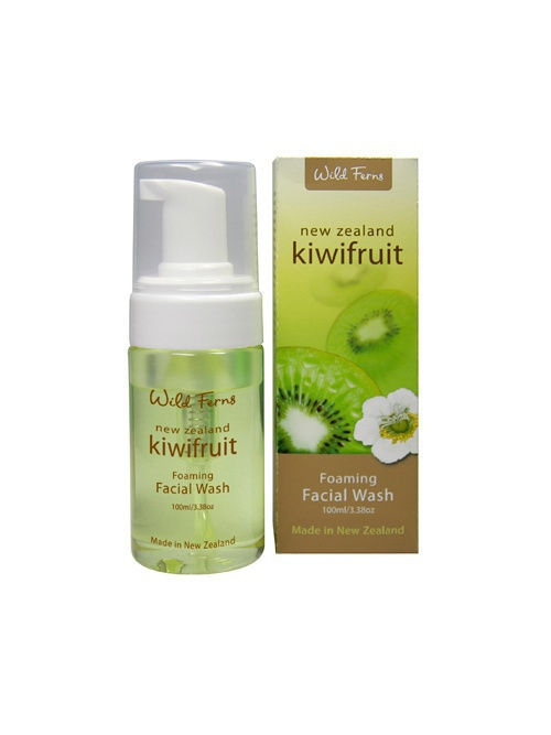 Кремы Wild Ferns Очищающая пенка Kiwifruit Foaming Facial Wash для лица с киви, 100 мл недорого