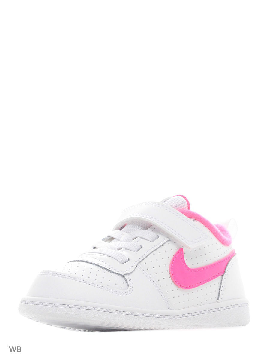 Кеды Nike Кеды NIKE COURT BOROUGH LOW (TDV) кеды nike кеды nike court borough mid ps