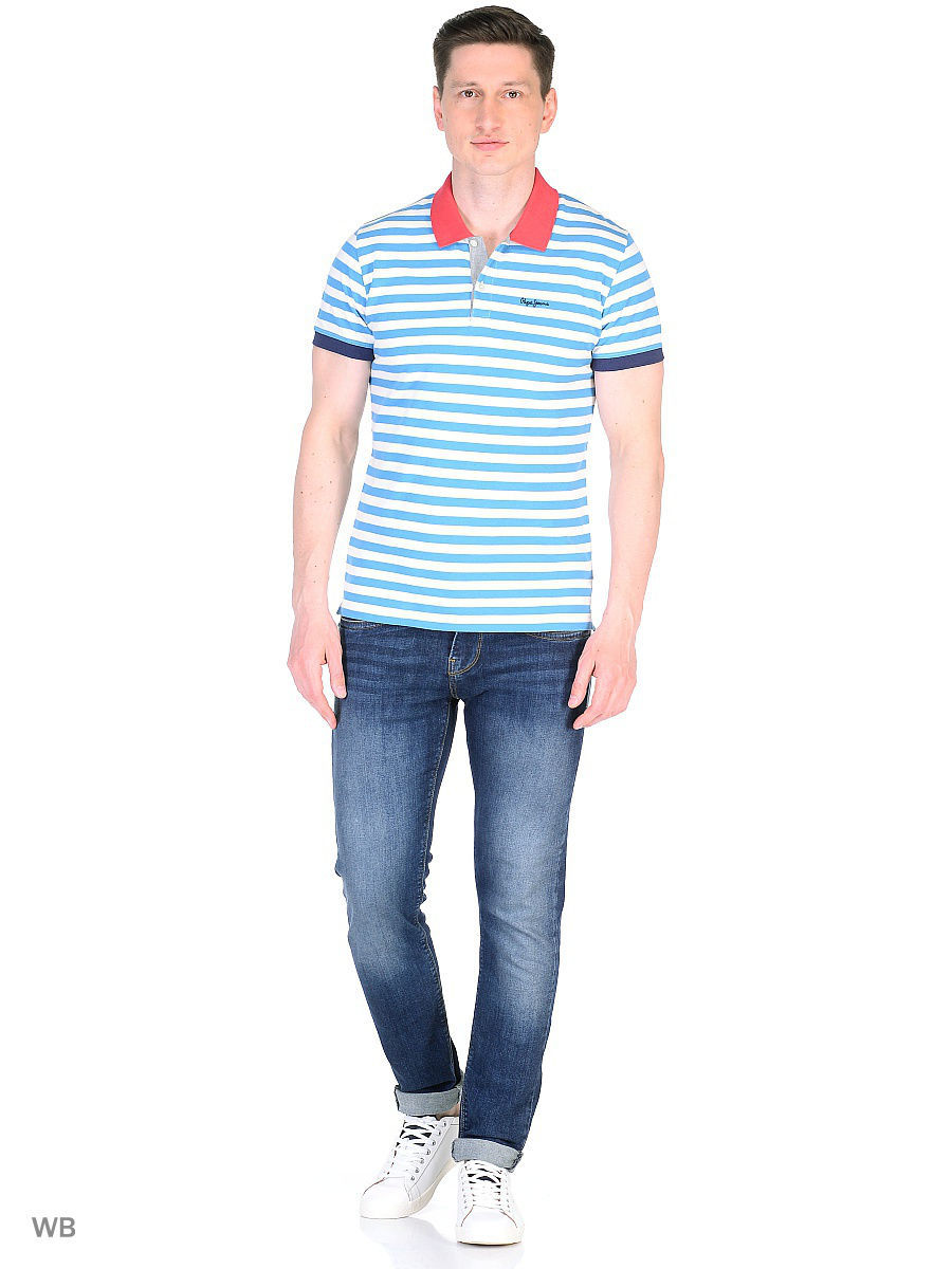 Мужские поло Pepe Jeans London PM540926/531MIDDLEBLUE