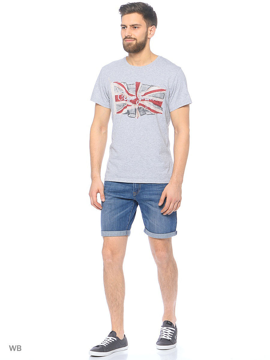 Мужские шорты Pepe Jeans London PM800272H63/000DENIM