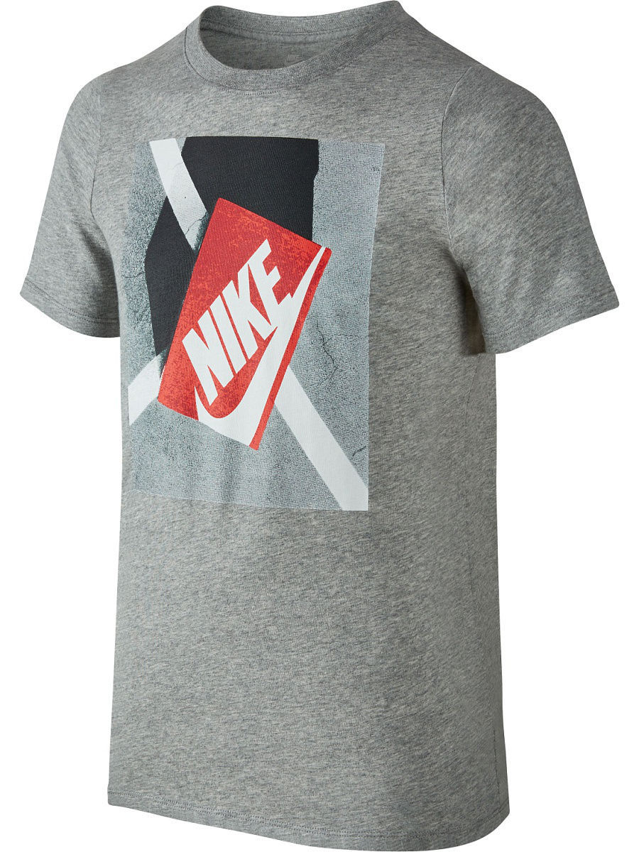 Футболка Nike Футболка B NSW TEE SS SHOE BOX футболка nike футболка b nsw tee ss air world