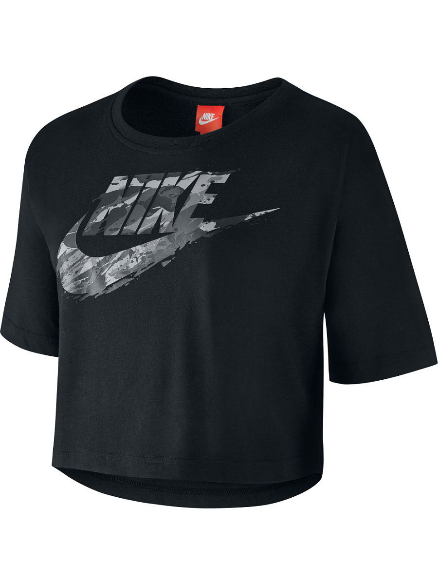 Футболка Nike Футболка W NSW TEE SS RCK GRDN футболка nike футболка b nsw tee ss air world