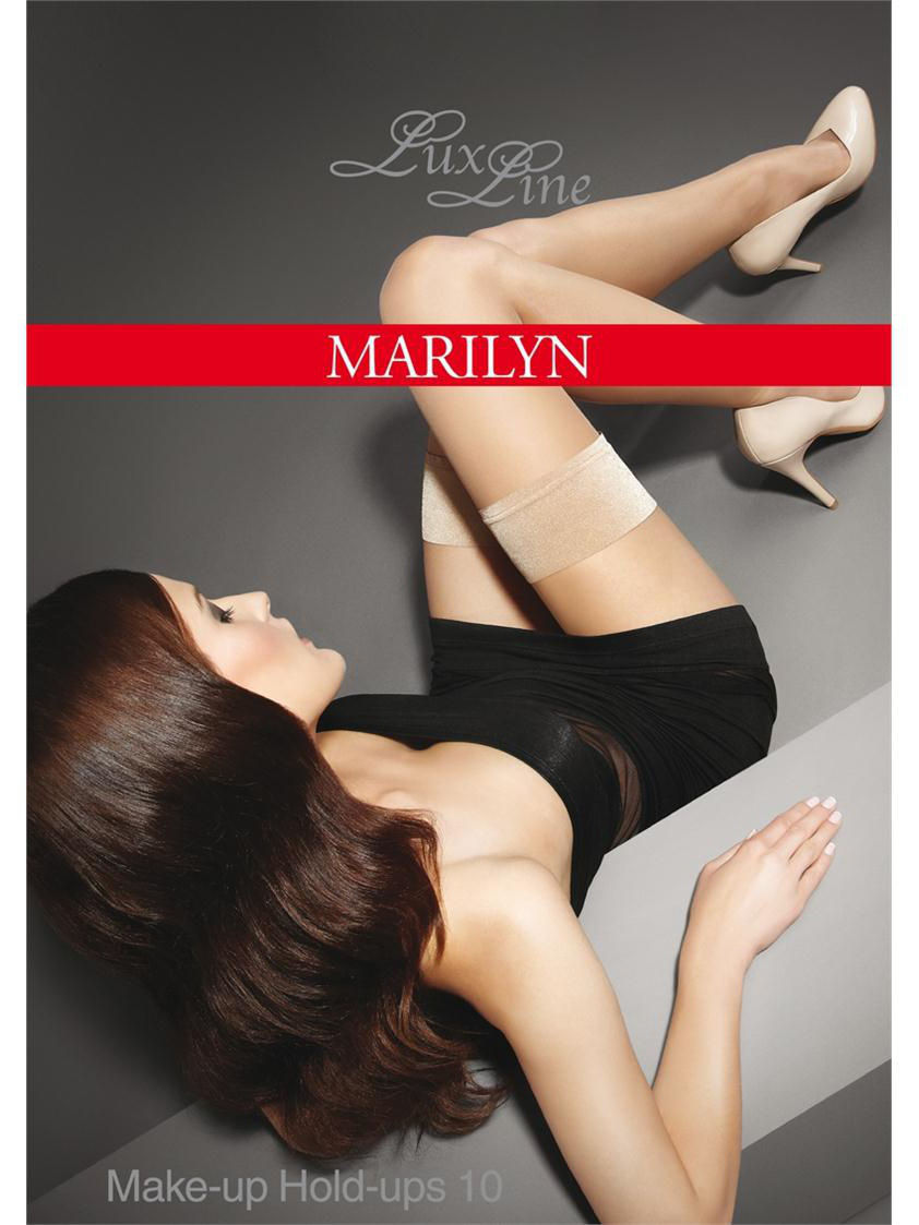 Чулки MARILYN EXCLUSIVEMAKEUPHOLDUP/black