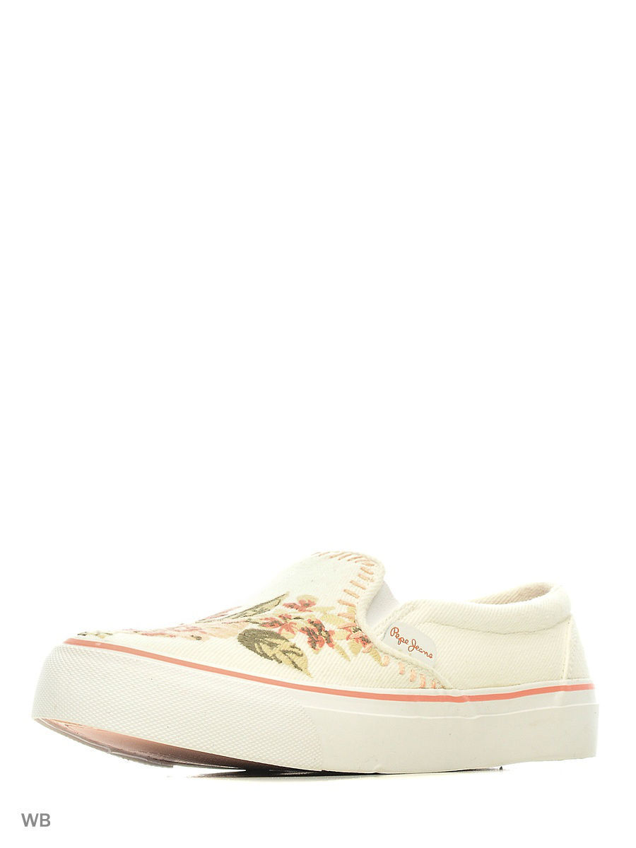 Женские слипоны Pepe Jeans London PLS30518/803offwhite
