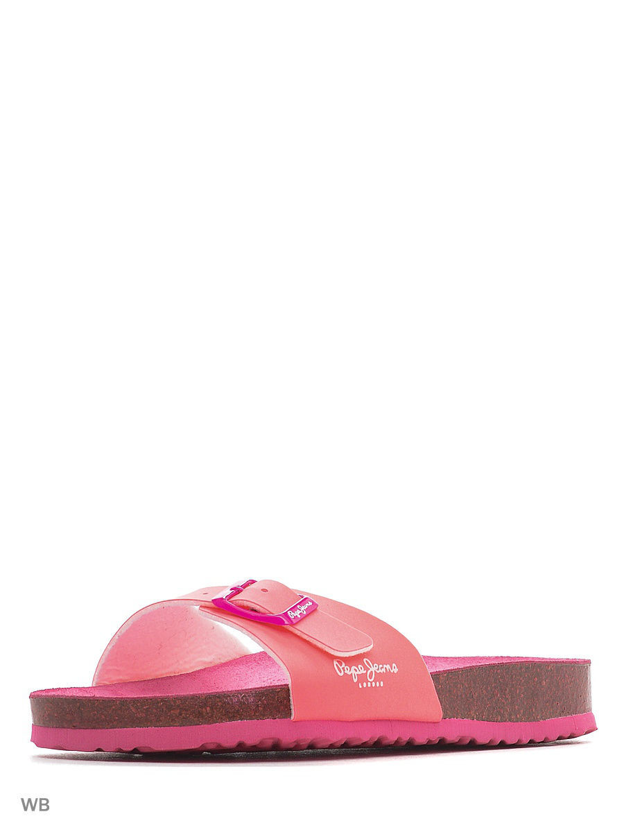 Шлепанцы PEPE JEANS LONDON PLS90279/335neonpink
