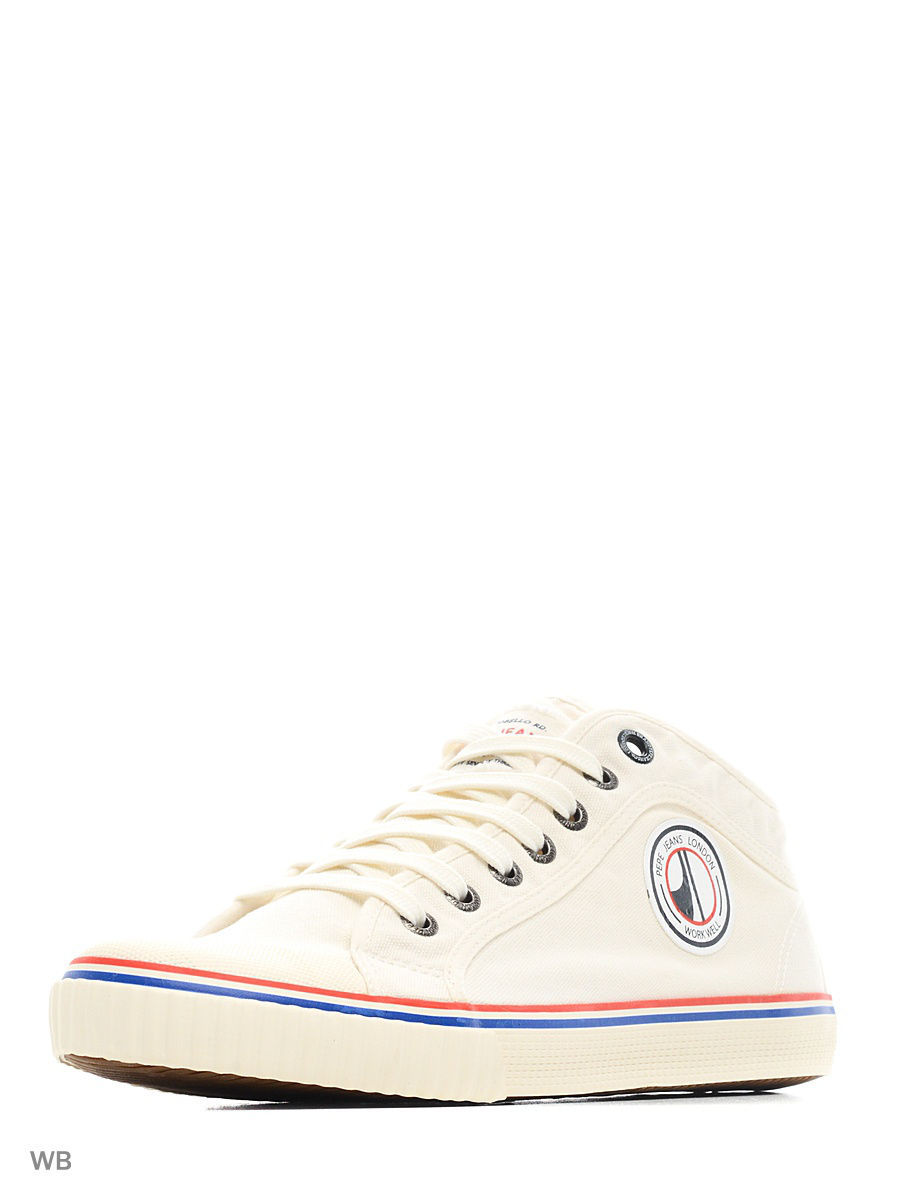 Мужские кеды Pepe Jeans London PMS30337/801factorywhite
