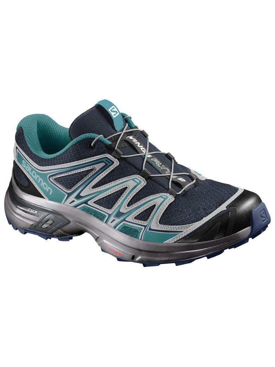 Кроссовки SHOES WINGS FLYTE 2 W Slateblue/ON/TEAL SALOMON L38158100