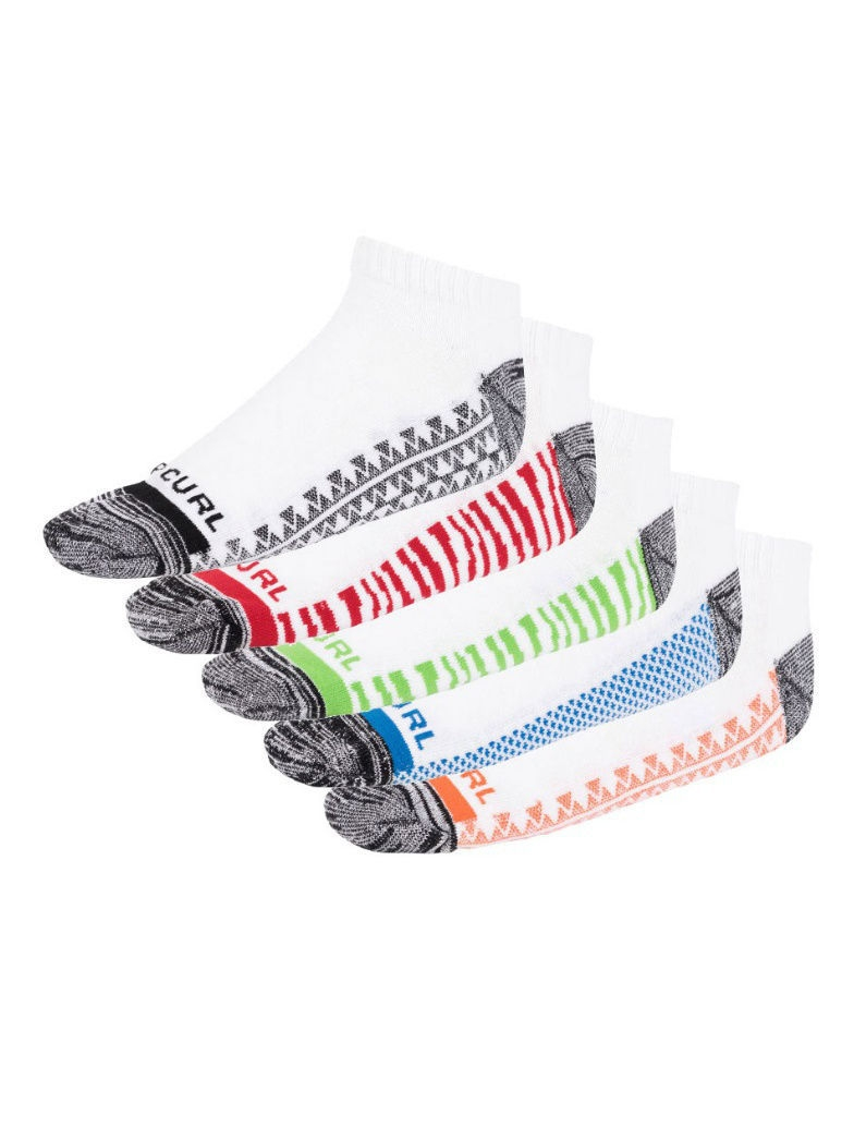 Носки 5 пар POP ANKLE SOCK 5-PACK Rip Curl CSOBJ1/1000