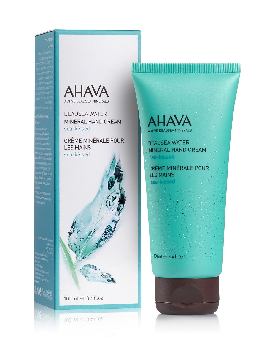 Кремы AHAVA Deadsea Water Минеральный крем для рук sea kissed 100 мл масла ahava deadsea plants сухое масло для тела опунция и моринга 100 мл