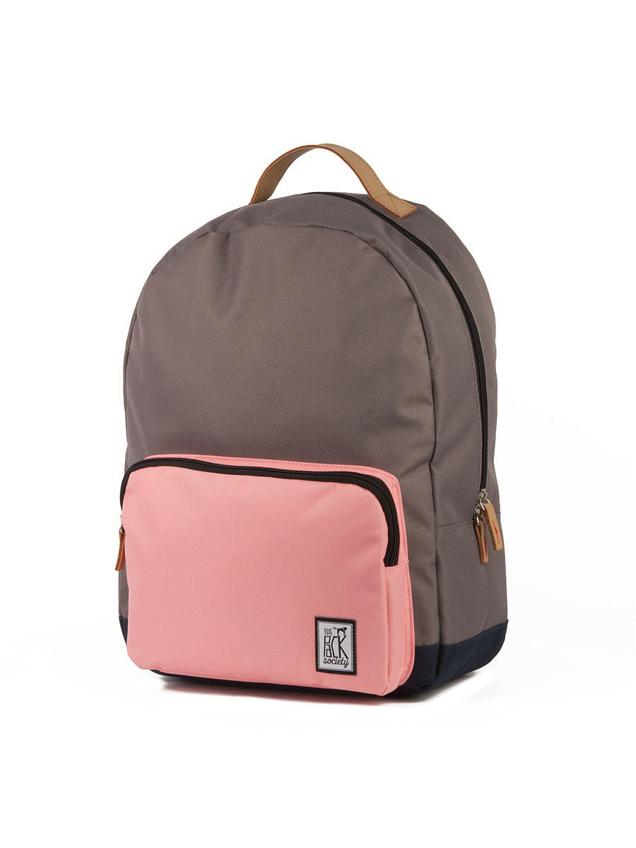 Рюкзак THE PACK SOCIETY 999PCL702/Charcoal/Pink/MidnightBlue-03
