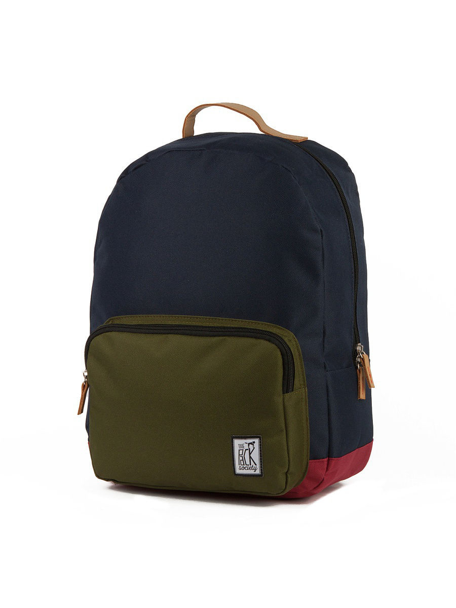 Рюкзак THE PACK SOCIETY 999PCL702/MidnightBlue/ForestGreen/Burgundy-26