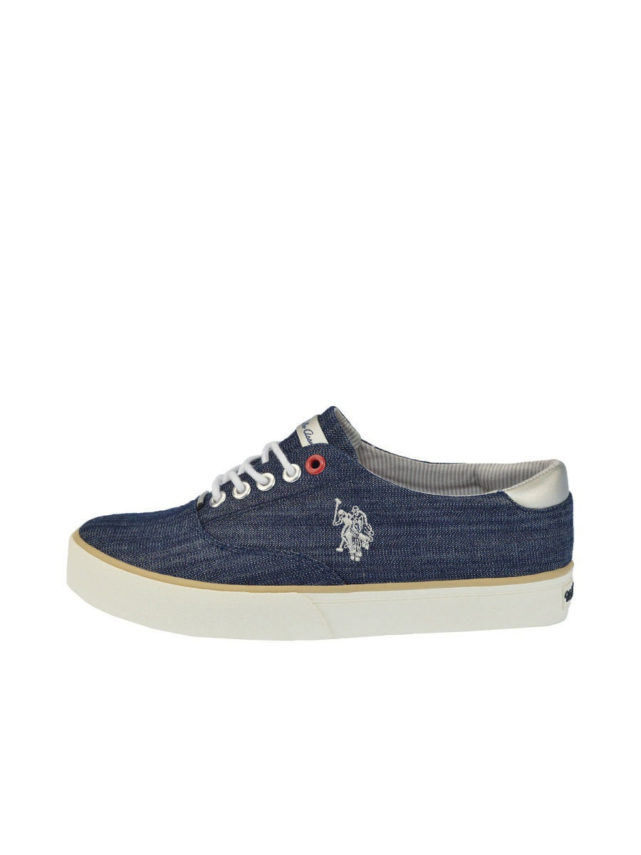 Женские кеды U.S. Polo Assn. S082SZ033ITLYRIPLEY-CANVAS/NAVY