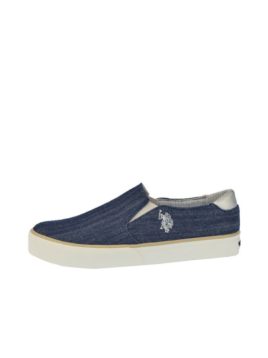 Женские слипоны U.S. Polo Assn. S082SZ033ITLYRUTH-CANVAS/NAVY