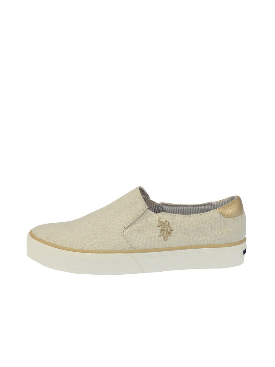 Женские слипоны U.S. Polo Assn. S082SZ033ITLYRUTH-CANVAS/WHI