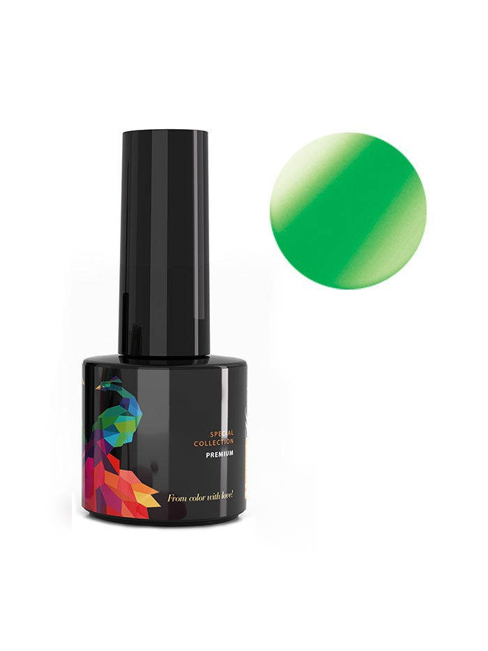 Гель-лаки Mozart House Гель-лак Gel Polish Neon Green Mozart House, 7 мл