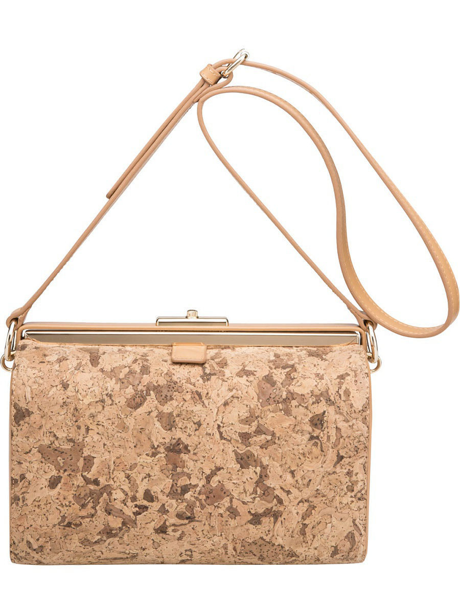 Большая сумка Ekonika EN30302beige/brown-17L