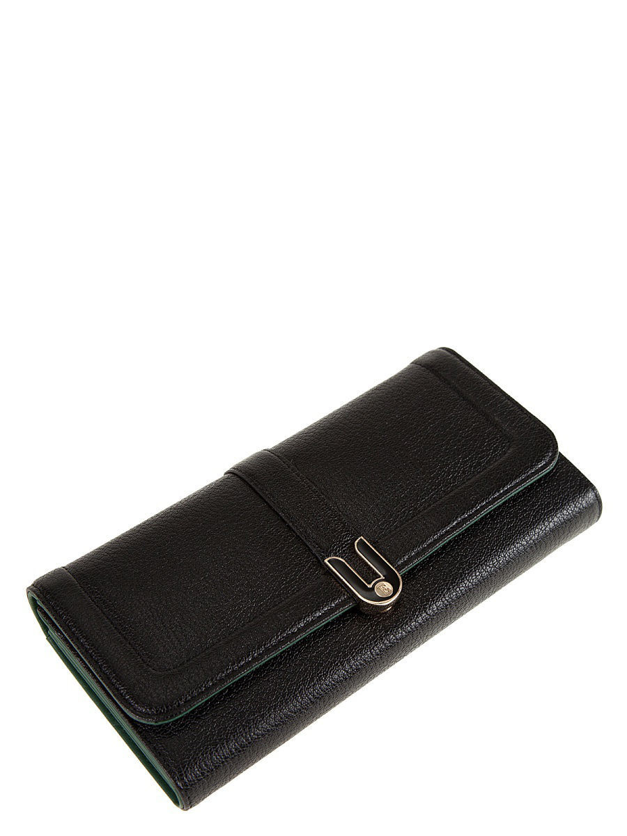 Кошелек Eleganzza Z4186-2596/black/d.green
