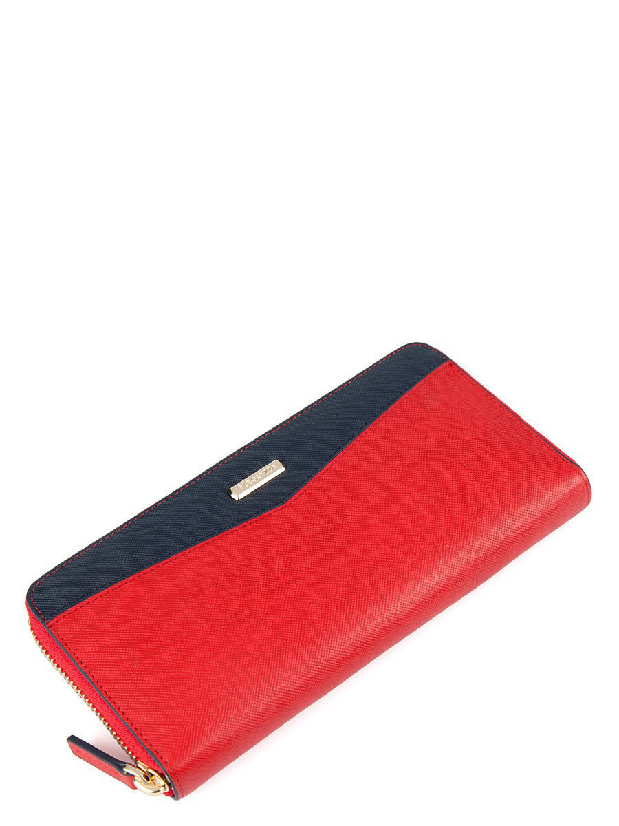 Кошелек Eleganzza Z5080-2424/red/d.blue