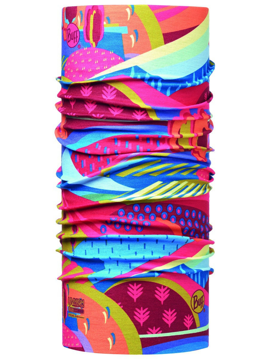 Банданы Buff Бандана BUFF 2017 High UV COLOURFUL MOUNTAINS MULTI банданы buff бандана high uv protection high uv buffsolid fiery red