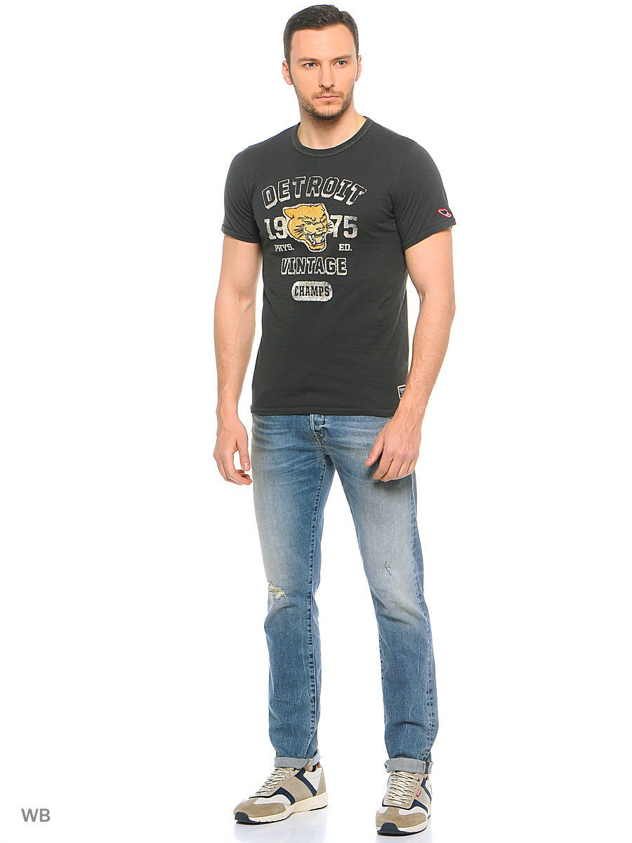 Футболка Jack & Jones 12116495/DarkGrey