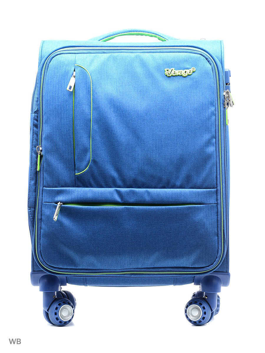 Чемоданы Verage Чемодан verage wh 641401w 18 5 blue