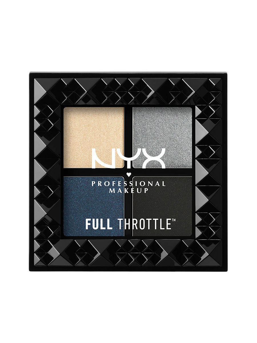 Тени NYX PROFESSIONAL MAKEUP Палетка теней FULL THROTTLE SHADOW PALETTE - HAYWIRE 03 тени nyx professional makeup палетка теней perfect filter shadow palette olive you 03