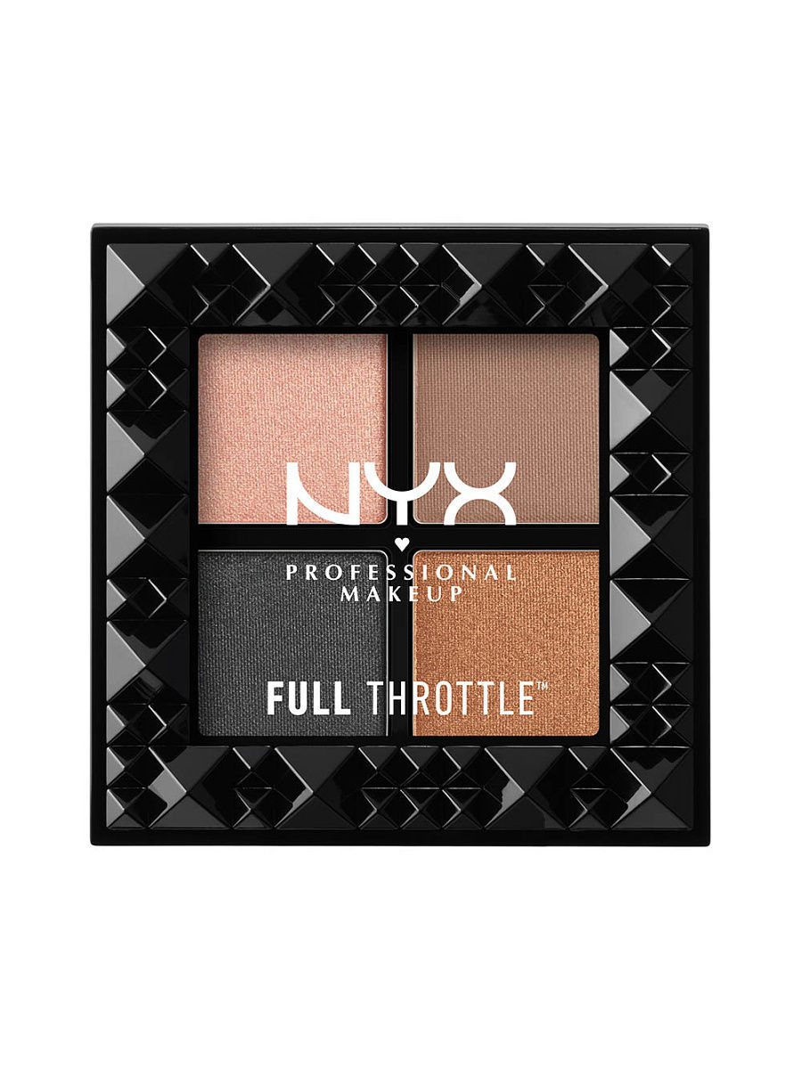 Тени NYX PROFESSIONAL MAKEUP Палетка теней FULL THROTTLE SHADOW PALETTE - TAKE OVER CONTROL 05 тени nyx professional makeup палетка теней perfect filter shadow palette olive you 03