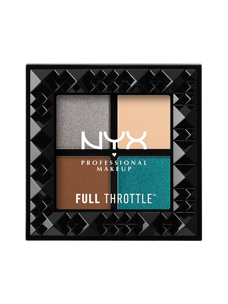 Тени NYX PROFESSIONAL MAKEUP Палетка теней FULL THROTTLE SHADOW PALETTE - STUNNER 06 тени nyx professional makeup палетка теней perfect filter shadow palette olive you 03
