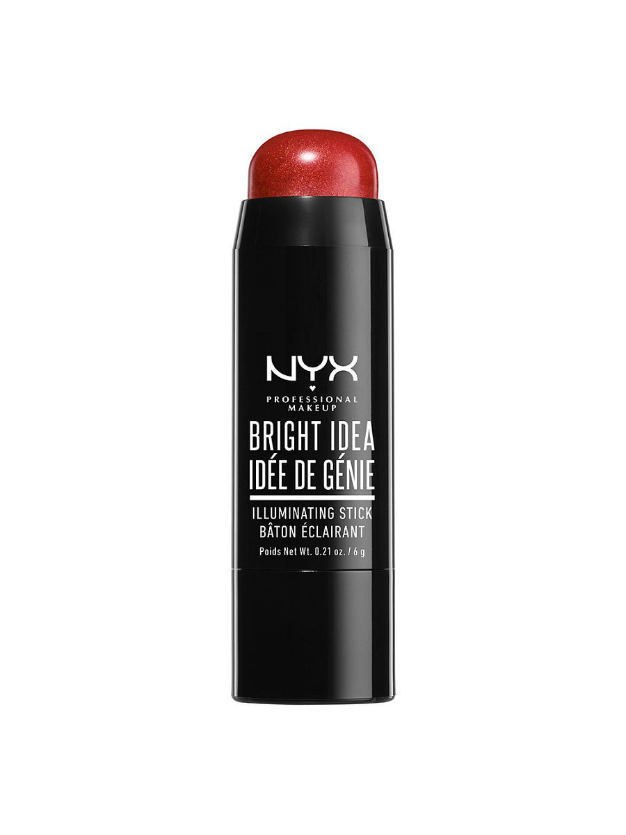 Хайлайтеры NYX PROFESSIONAL MAKEUP Стик иллюминатор BRIGHT IDEA ILLUMINATING STICK - BRIK RED BLAZE 03 nyx professional makeup стик иллюминатор bright idea illuminating stick pearl pink lace 07