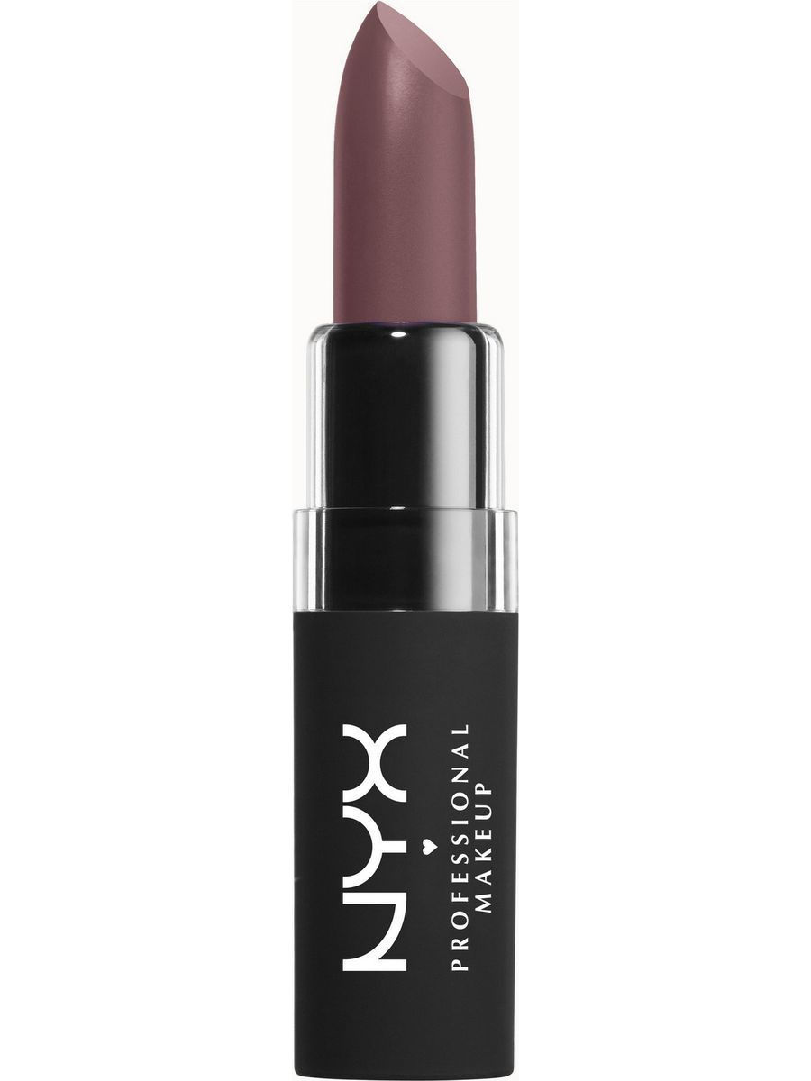 Помады NYX PROFESSIONAL MAKEUP Матовая помада VELVET MATTE LIPSTICK - DUCHESS 08 праймер nyx professional makeup big