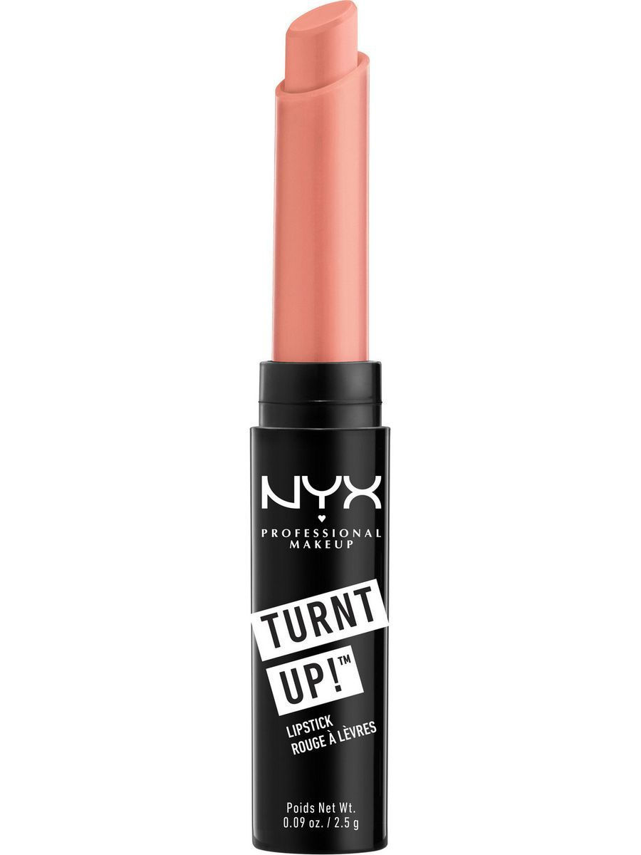 Помады NYX PROFESSIONAL MAKEUP Увлажняющая глянцевая помада TURNT UP LIPSTICK - PINK LADY 04 nyx professional makeup увлажняющая помада butter lipstick daydreaming 25