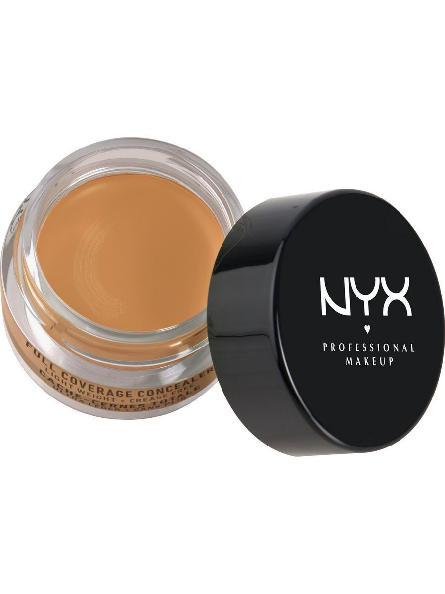 Корректоры NYX PROFESSIONAL MAKEUP Консилер для глаз. CONCEALER JAR - GOLDEN корректоры nyx professional makeup консилер для глаз concealer jar orange