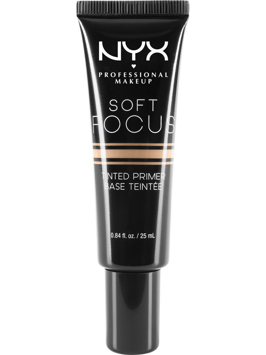 Основы под макияж NYX PROFESSIONAL MAKEUP Оттеночный праймер SOFT FOCUS TINTED PRIMER - MEDIUM BEIGE 02 праймер nyx professional makeup big
