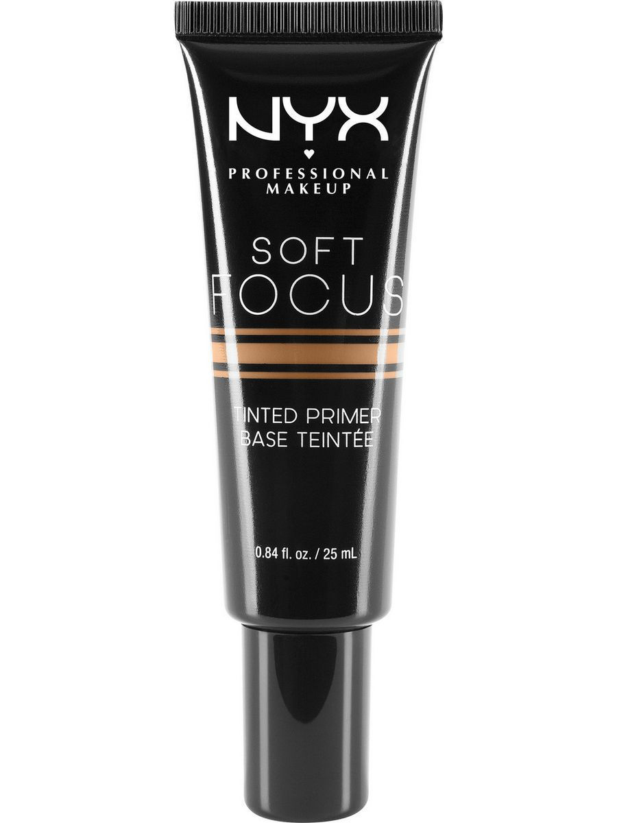 Основы под макияж NYX PROFESSIONAL MAKEUP Оттеночный праймер SOFT FOCUS TINTED PRIMER - WARM 03 праймер nyx professional makeup big