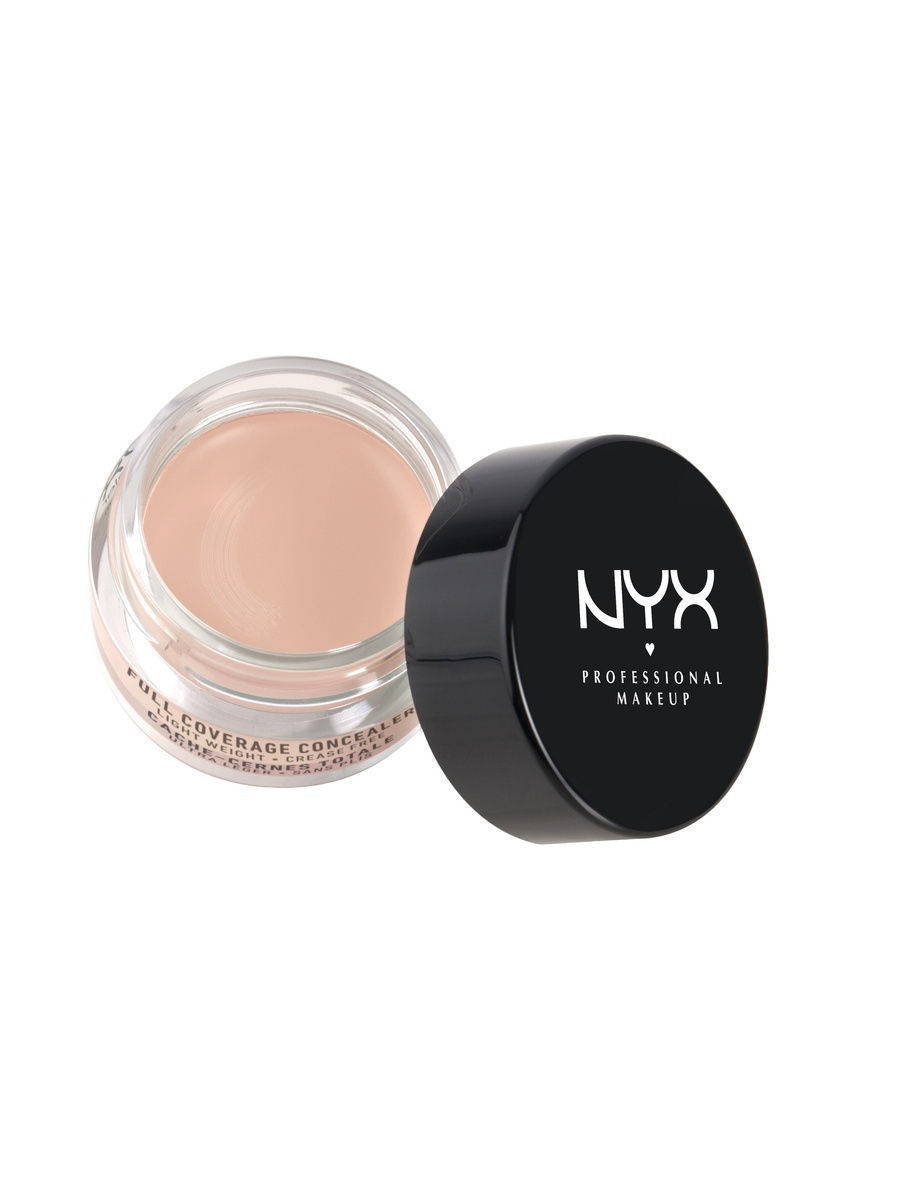 Корректоры NYX PROFESSIONAL MAKEUP Консилер для лица CONCEALER JAR - FAIR 02 nyx professional makeup консилер для лица concealer jar light 03